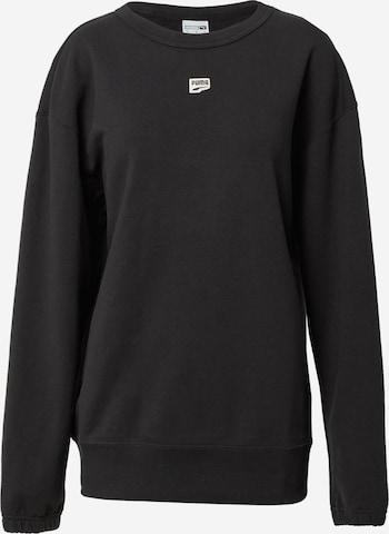 PUMA Athletic Sweatshirt 'PUMAxABOUT YOU' in Black