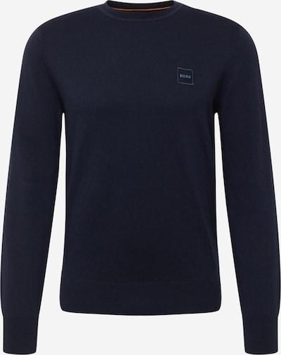 BOSS Casual Sweater 'Kanovant' in Dark blue, Item view