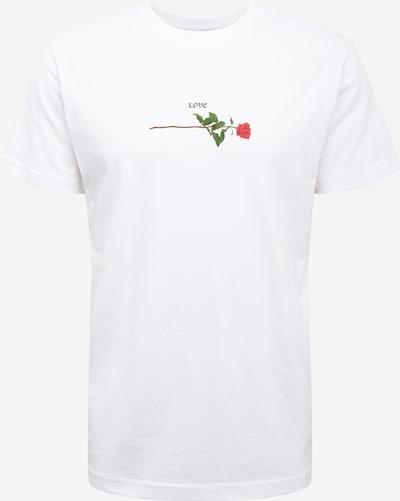 Mister Tee Tričko 'Rose Love' - zelená / červená / čierna / biela, Produkt