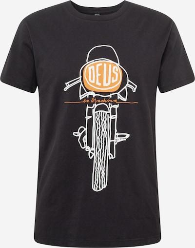 DEUS EX MACHINA T-Shirt 'Frontal Matchless' en orange / noir / blanc, Vue avec produit