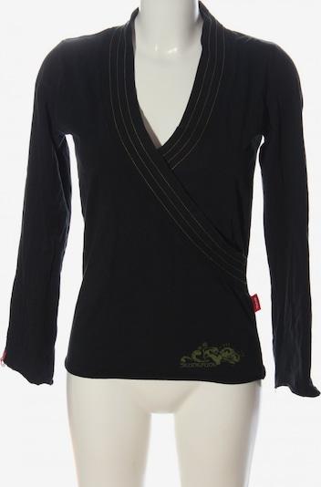 Skunkfunk Longsleeve in L in khaki / schwarz, Produktansicht