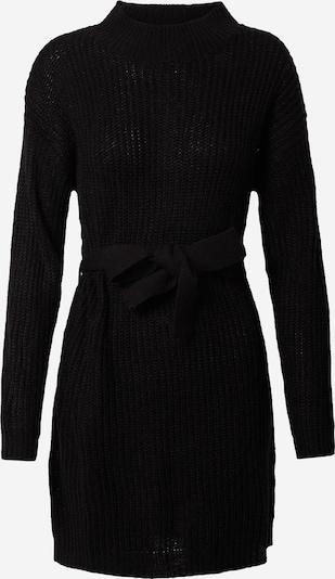 Megzta suknelė iš Missguided , spalva - juoda, Prekių apžvalga