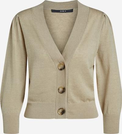 SET Cardigan in beige, Produktansicht