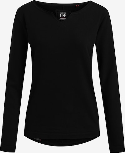 Shirts for Life Sweatshirt Shirts for Life Parma Lieblingsplatz in schwarz, Produktansicht