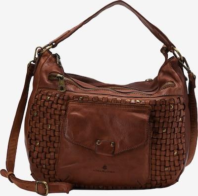 DreiMaster Vintage Handtasche in braun, Produktansicht