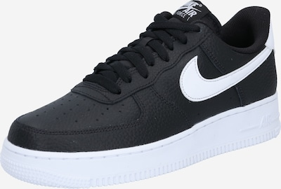 Nike Sportswear Nízke tenisky 'Air Force 1 '07' - čierna / biela, Produkt