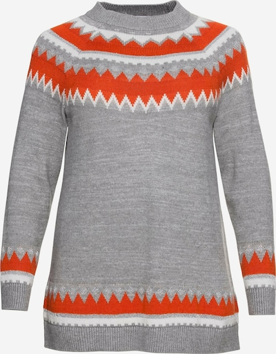 SHEEGO Pullover in graumeliert, Produktansicht