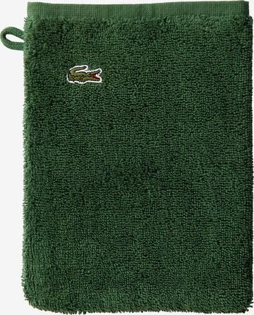LACOSTE Washcloth 'LE CROCO' in Green