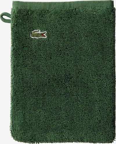 LACOSTE Waschhandschuh 'LE CROCO' in grün, Produktansicht