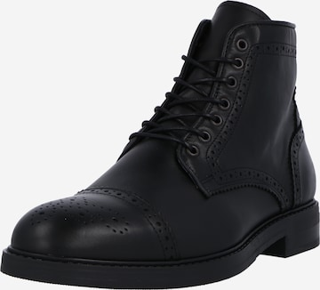 SELECTED HOMME Lace-up boot 'BLAKE' in Black