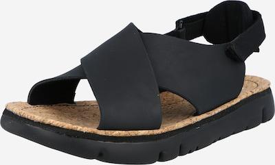 CAMPER Sandales à lanières ' Oruga ' en noir, Vue avec produit