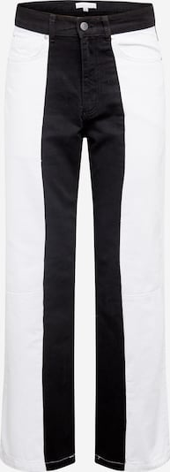 NU-IN Jean en noir denim / blanc denim, Vue avec produit