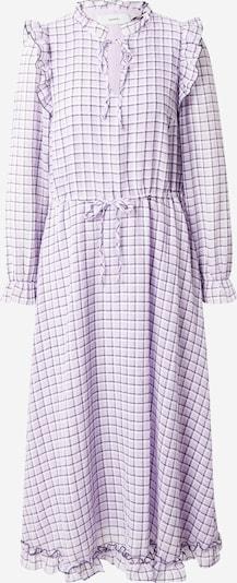 Moves Vestido camisero 'Jalina' en lavanda / lila oscuro / blanco, Vista del producto