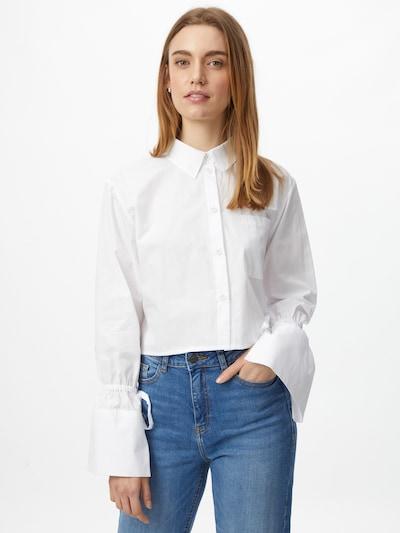 NU-IN Bluza | bela barva, Prikaz modela