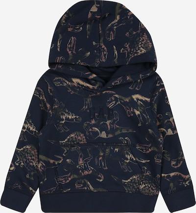 GAP Sweater majica 'NOVELTY' u mornarsko plava / pastelno žuta / kaki / roza, Pregled proizvoda