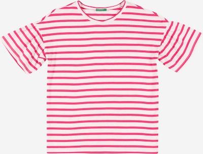 UNITED COLORS OF BENETTON Shirt in pink / weiß, Produktansicht