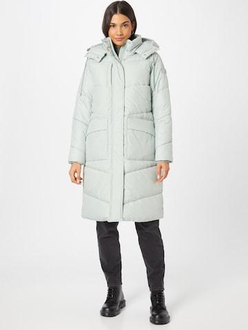 pilka TOM TAILOR DENIM Žieminis paltas