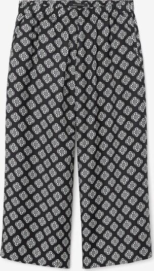 Marc O'Polo Pantalon in de kleur Zwart / Wit, Productweergave