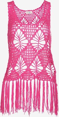 IZIA Gebreide top in Roze