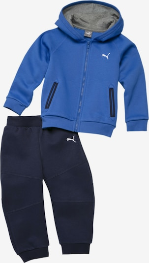 PUMA Trainingspak in de kleur Blauw / Zwart, Productweergave