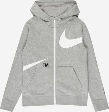 Hanorac de la Nike Sportswear pe gri