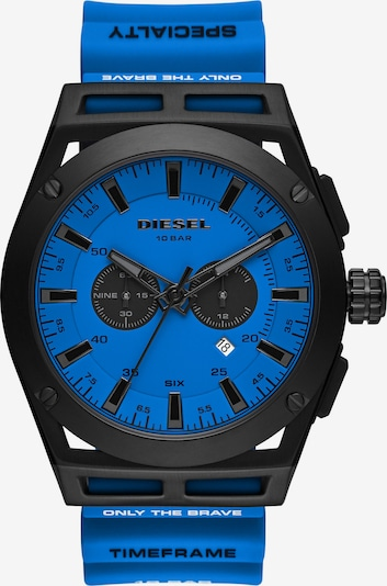 DIESEL Uhr in blau / schwarz, Produktansicht