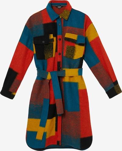 Desigual Between-seasons coat 'FINLANDIA' in Dark blue / Yellow / Red / Black, Item view