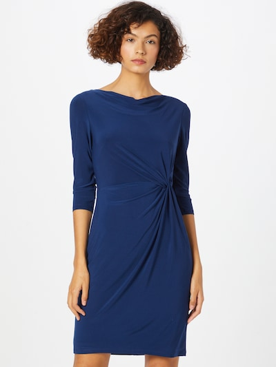 Lauren Ralph Lauren Jurk 'TRAVA' in de kleur Donkerblauw, Modelweergave