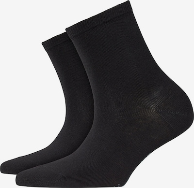 BURLINGTON Socken in schwarz: Frontalansicht