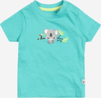 BLUE SEVEN T-Krekls, krāsa - dzeltens / pelēks / nefrīta / melns / balts, Preces skats