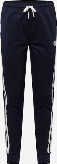 Sergio Tacchini Sporthose in dunkelblau / weiß, Produktansicht