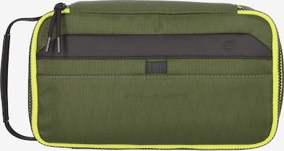 Piquadro Trousses de toilette 'Otello' en jaune / vert / noir, Vue avec produit