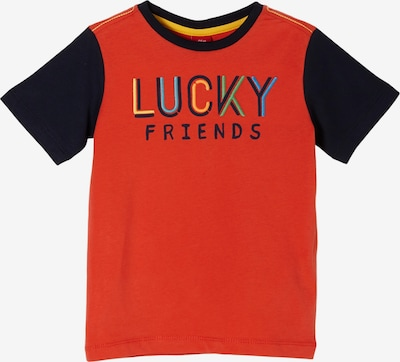 s.Oliver T-Shirt in marine / dunkelorange, Produktansicht