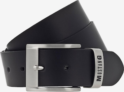 MUSTANG Gürtel in schwarz, Produktansicht