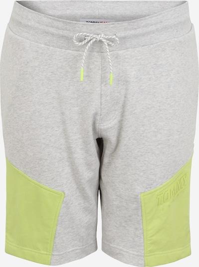 Tommy Jeans Plus Nohavice - žltá / striebornosivá, Produkt