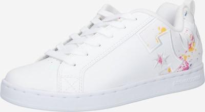 DC Shoes Sporta apavi, krāsa - jauktu krāsu / balts, Preces skats