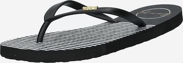 ROXY T-Bar Sandals 'VIVA' in Black