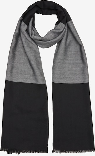 s.Oliver Sjaal in de kleur Grijs / Zwart, Productweergave
