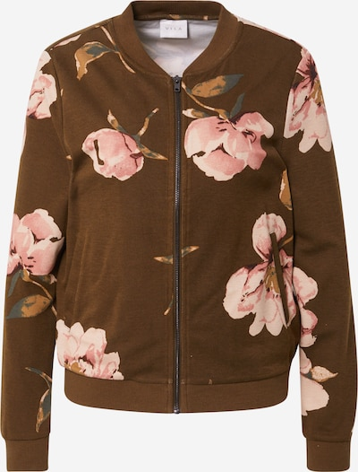 VILA Between-season jacket 'AMANDA' in Stone / Khaki / Pink / Rose, Item view