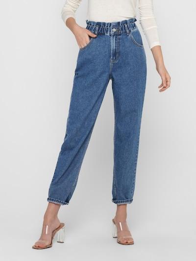 Džinsai 'Ova' iš ONLY , spalva - tamsiai (džinso) mėlyna, Modelio vaizdas