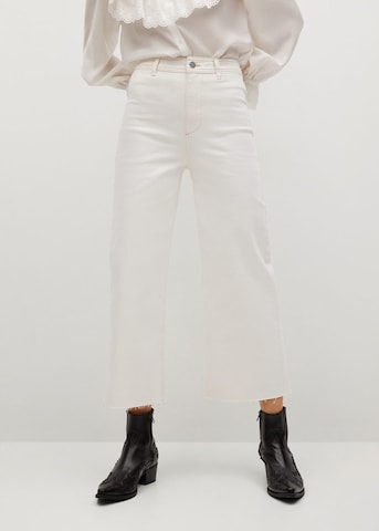 MANGO Jeans 'Catherin' in Wit