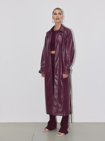 LeGer by Lena Gercke Between-Seasons Coat 'Naima' in Red