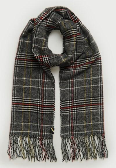 Superdry Sjaal in de kleur Donkergrijs / Bloedrood, Productweergave