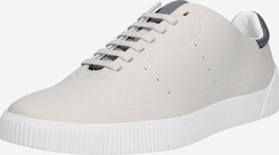 HUGO Sneakers laag 'Zero Tenn' in de kleur Donkergrijs / Offwhite, Productweergave