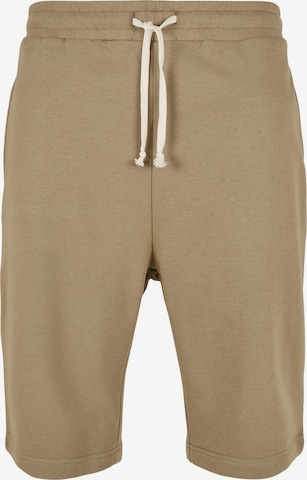 Urban Classics Trousers in Green