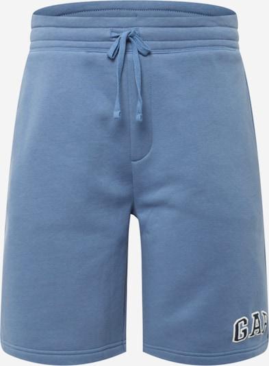 Pantaloni GAP pe albastru fumuriu / albastru noapte / alb, Vizualizare produs