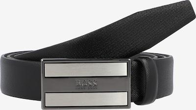 BOSS Casual Riem in de kleur Zwart / Zilver, Productweergave