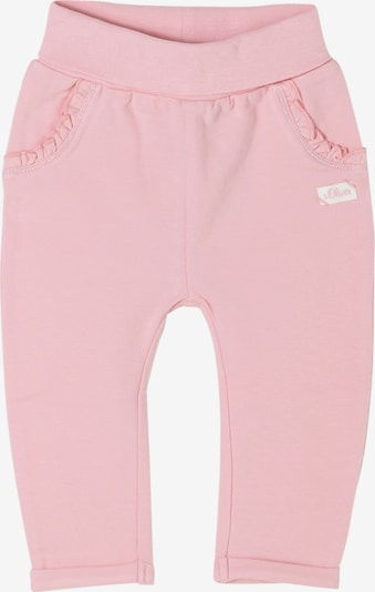 s.Oliver Trousers in Pastel pink, Item view