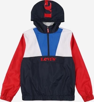 LEVI'S Chaqueta de entretiempo en azul / azul oscuro / rojo / blanco, Vista del producto