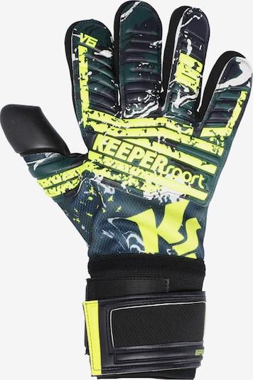 KEEPERsport Handschuh in neongelb, Produktansicht